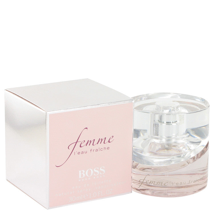 Boss Femme L'eau Fraiche Eau De Toilette Spray By Hugo Boss