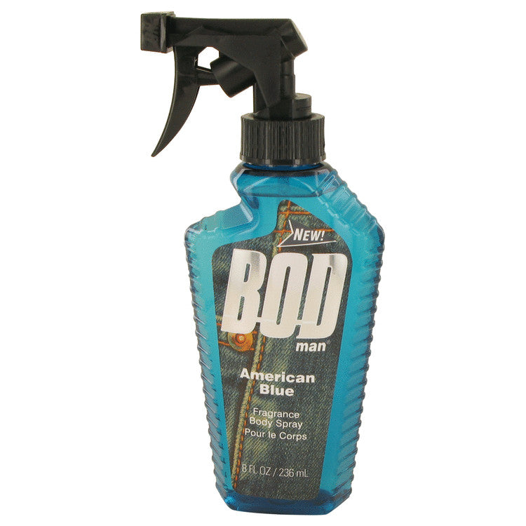 Bod Man American Blue Body Spray By Parfums De Coeur