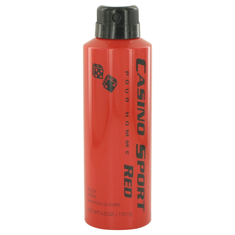 Casino Sport Red Body Spray (No Cap) By Casino Perfumes