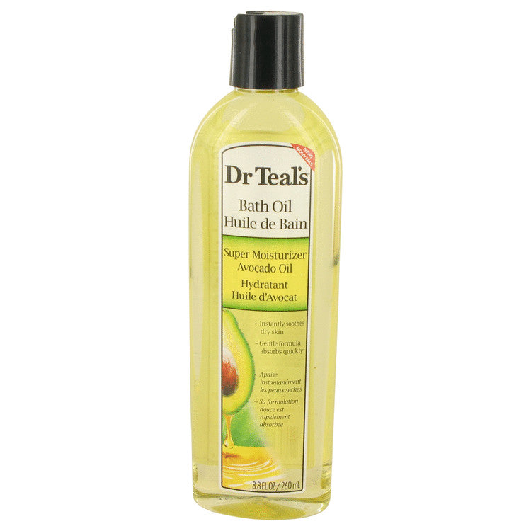 Dr Teal's Bath Oil Super Moisturizer Avocado Oil Bath Oil Super Moisturizer Avocado Oil Instantly Soothes Dry Skin By Dr Teal's