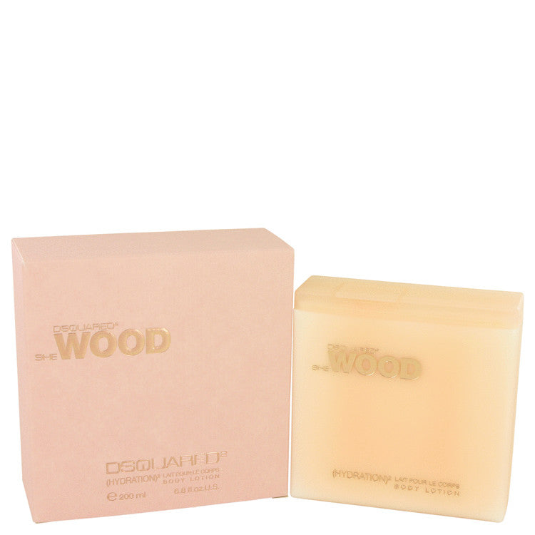 She Wood Body Lotion By Dsquared2