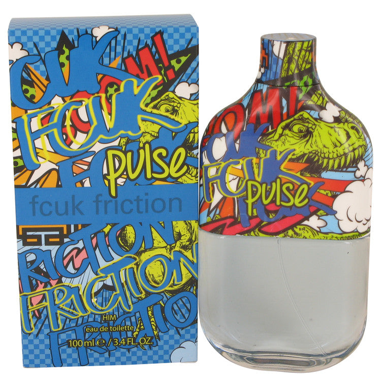 Fcuk Friction Pulse Eau De Toilette Spray By French Connection