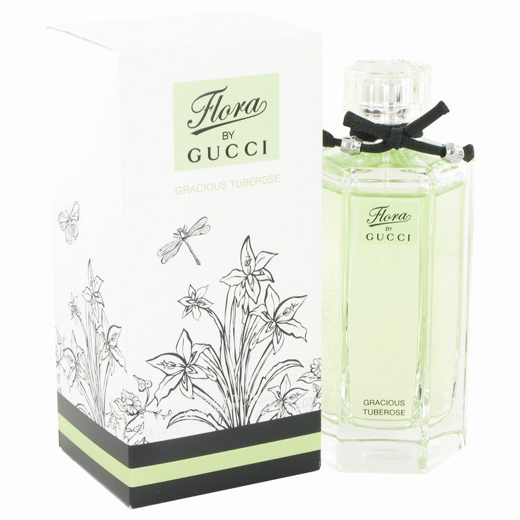 Flora Gracious Tuberose Eau De Toilette Spray By Gucci