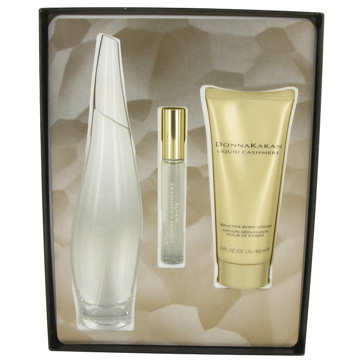 Liquid Cashmere White Gift Set By Donna Karan