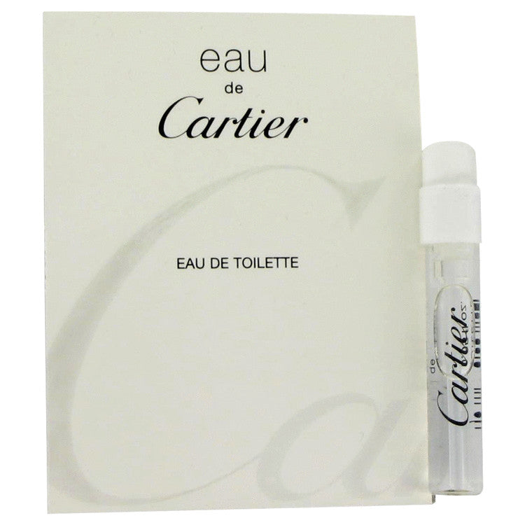 Eau De Cartier Vial (Unisex sample) By Cartier
