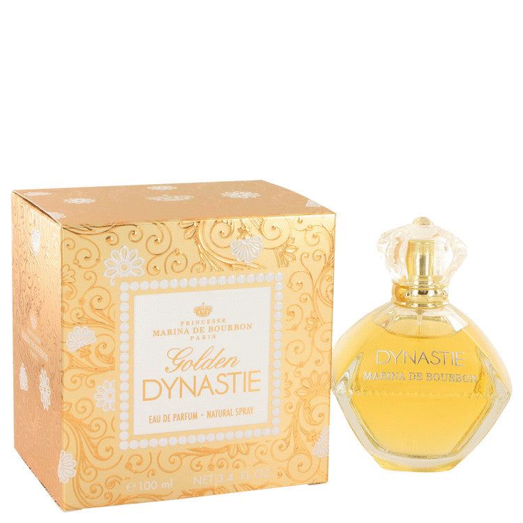 Golden Dynastie Eau De Parfum Spray By Marina De Bourbon