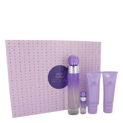 Perry Ellis 360 Purple Gift Set By Perry Ellis