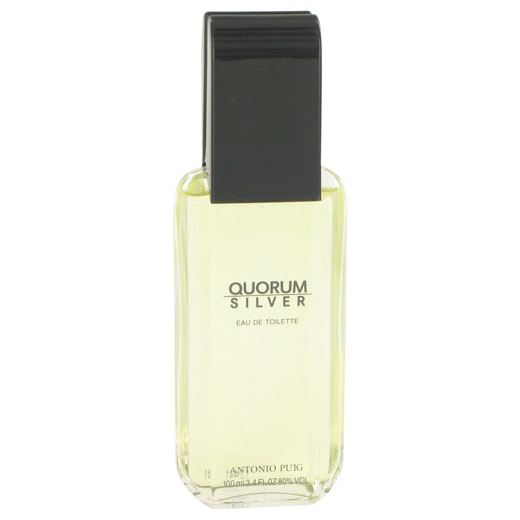 Quorum Silver Eau De Toilette Spray (Tester) By Puig