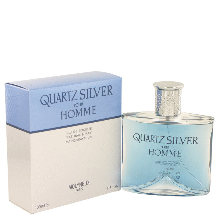 Quartz Silver Eau De Toilette Spray By Molyneux