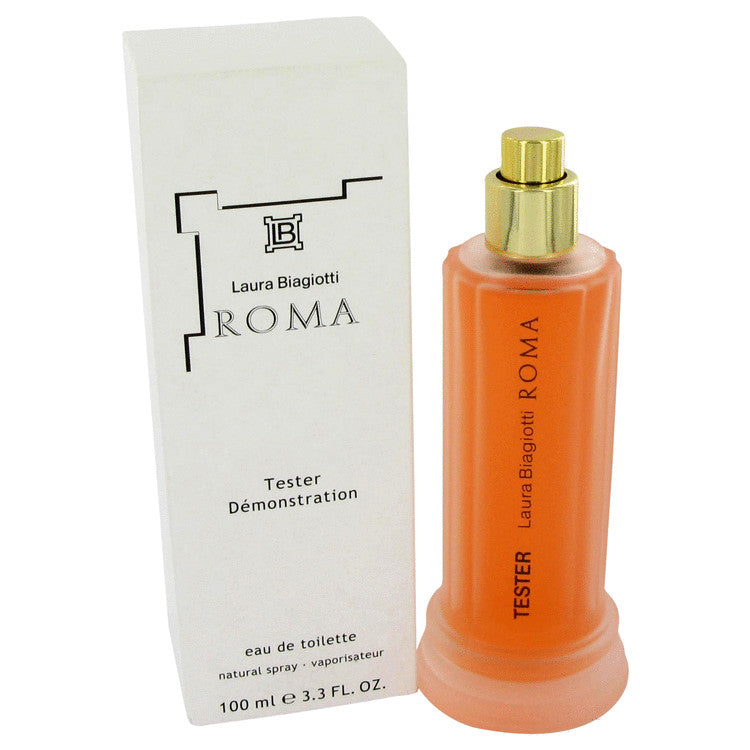 Roma Eau De Toilette Spray (Tester) By Laura Biagiotti