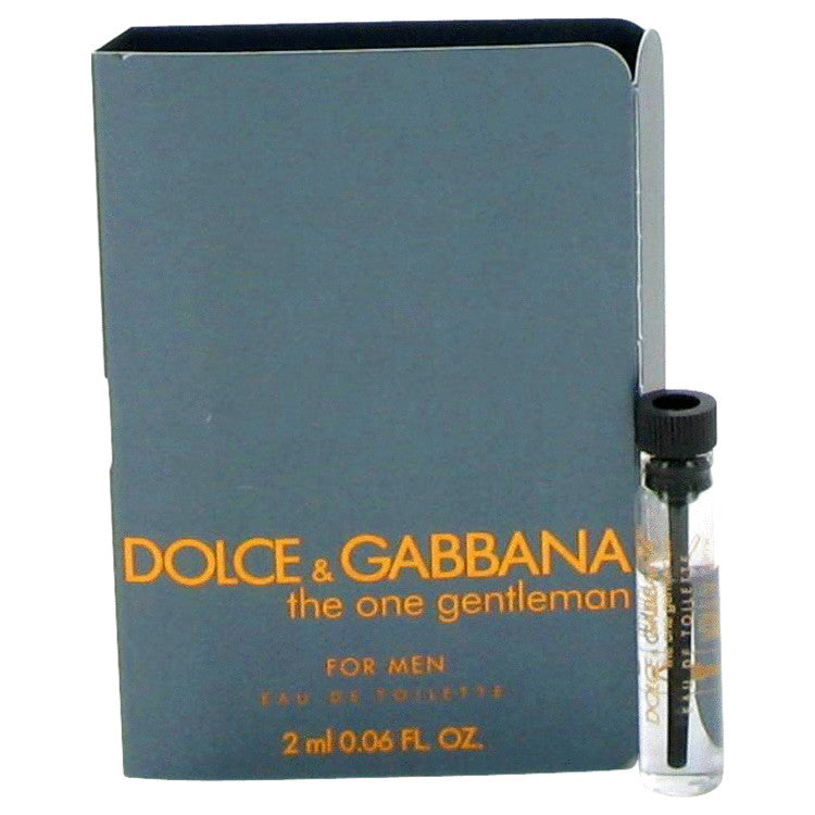The One Gentlemen Vial (sample) By Dolce & Gabbana