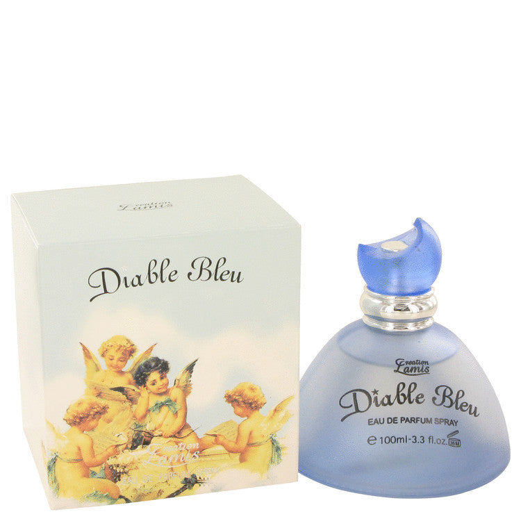 Diable Bleu Eau De Parfum Spray By Creation Lamis