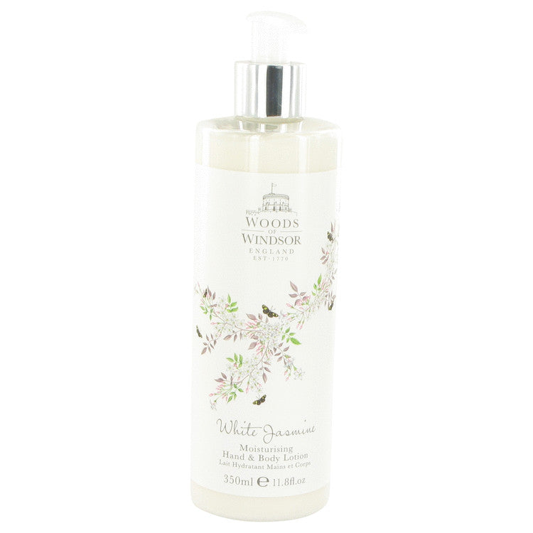 White Jasmine Body Lotion By Woods of Windsor