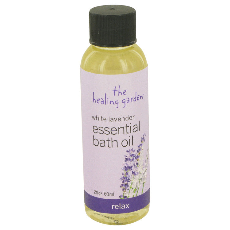 White Lavender The Healing Garden Relax Bath Oil By The Healing Garden