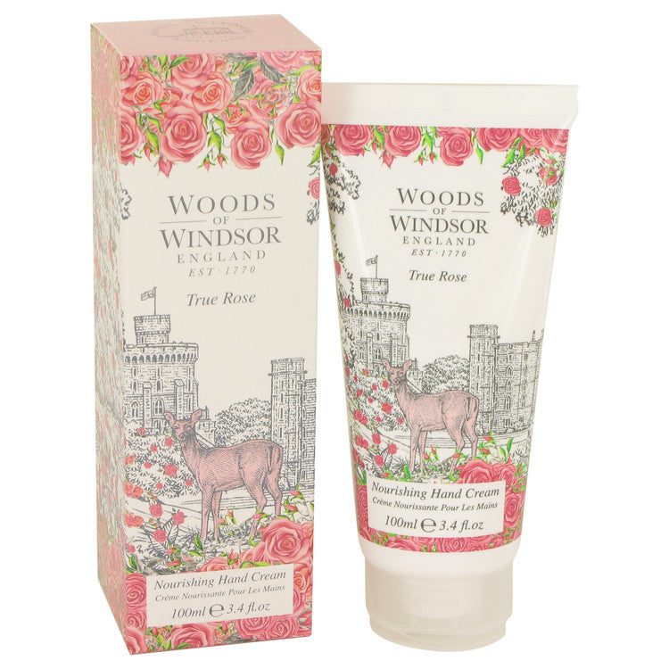 True Rose Hand Cream By Woods of Windsor