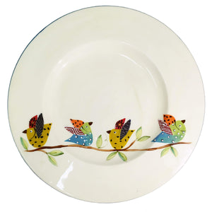 Elsona Bird Plate - Round, South Africa