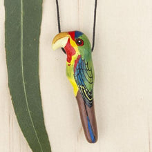Songbird Clay Bird Whistle Necklace / Pendant, Thailand