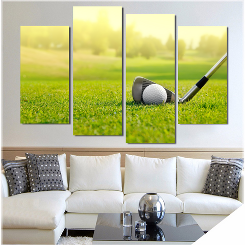 High Quality For The Love Of Golf Wall Art