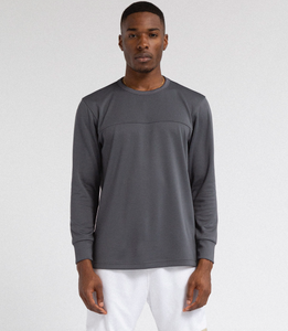 LS MESH SHIRT - GREY