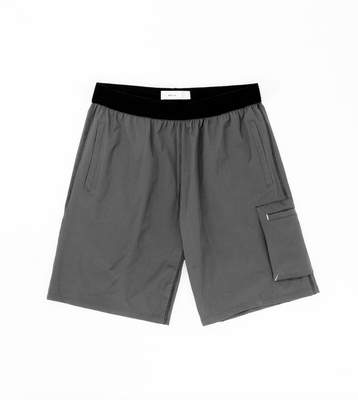 NYLON SHORT - GREY