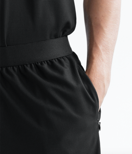 THERMAL GYM SHORT - BLACK