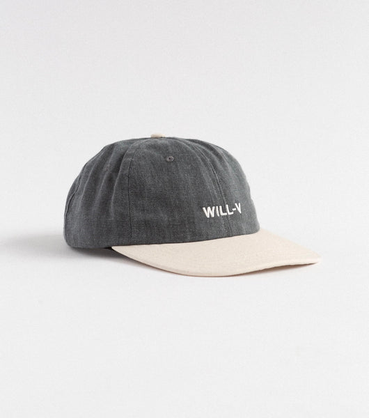 CANVAS HAT - WASHED / CREAM