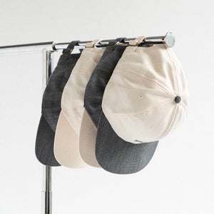 CANVAS HAT - SLATE / CREAM