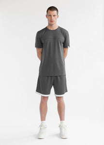 MESH HOOP SHORT - GREY