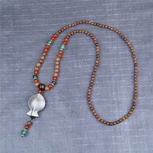 Ethnic Style Wood beaded Necklaces / Pendants