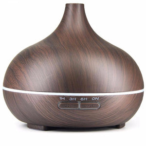 Aromatherapy Essential Oil Diffuser, ultrasonic humidifier with 4 Timer Settings