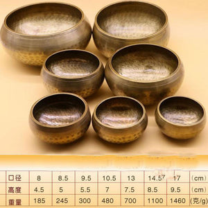 Himalayan Hand Hammered Meditation Bowl