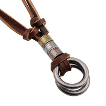 Leather Rope Pendant