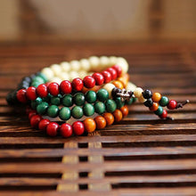 Multilayer Bracelet and Necklace Buddhist Meditation Bead Mala Prayer