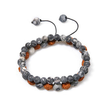 Bracelet Natural Stone, Adjustable Elasticity