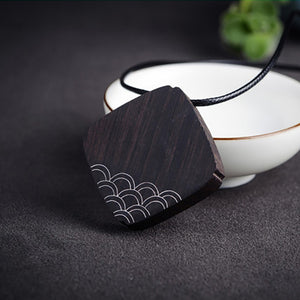 Wood and Ethnic Pendant