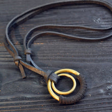 Leather Necklaces Pendants