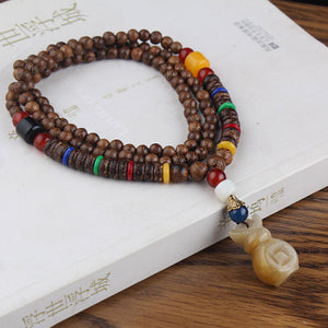 Pendant Wood Bead Necklaces