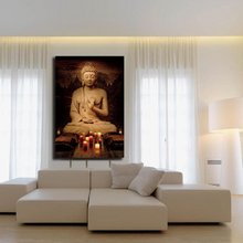 Buddha Joss Decorative Pictures Meditation Painting Canvas Art