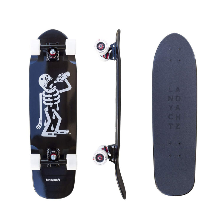 Landyachtz Dinghy Series Skateboard, Skeleton Complete