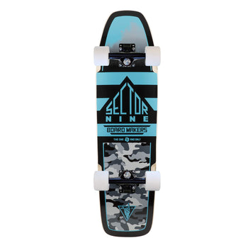 Sector 9 Ninty Five, Blue Mini Cruiser Complete