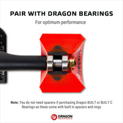 Fireball Dragon Spacers and Speed Rings, Black