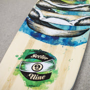 Sector 9 Droplet Lookout Longboard, Complete