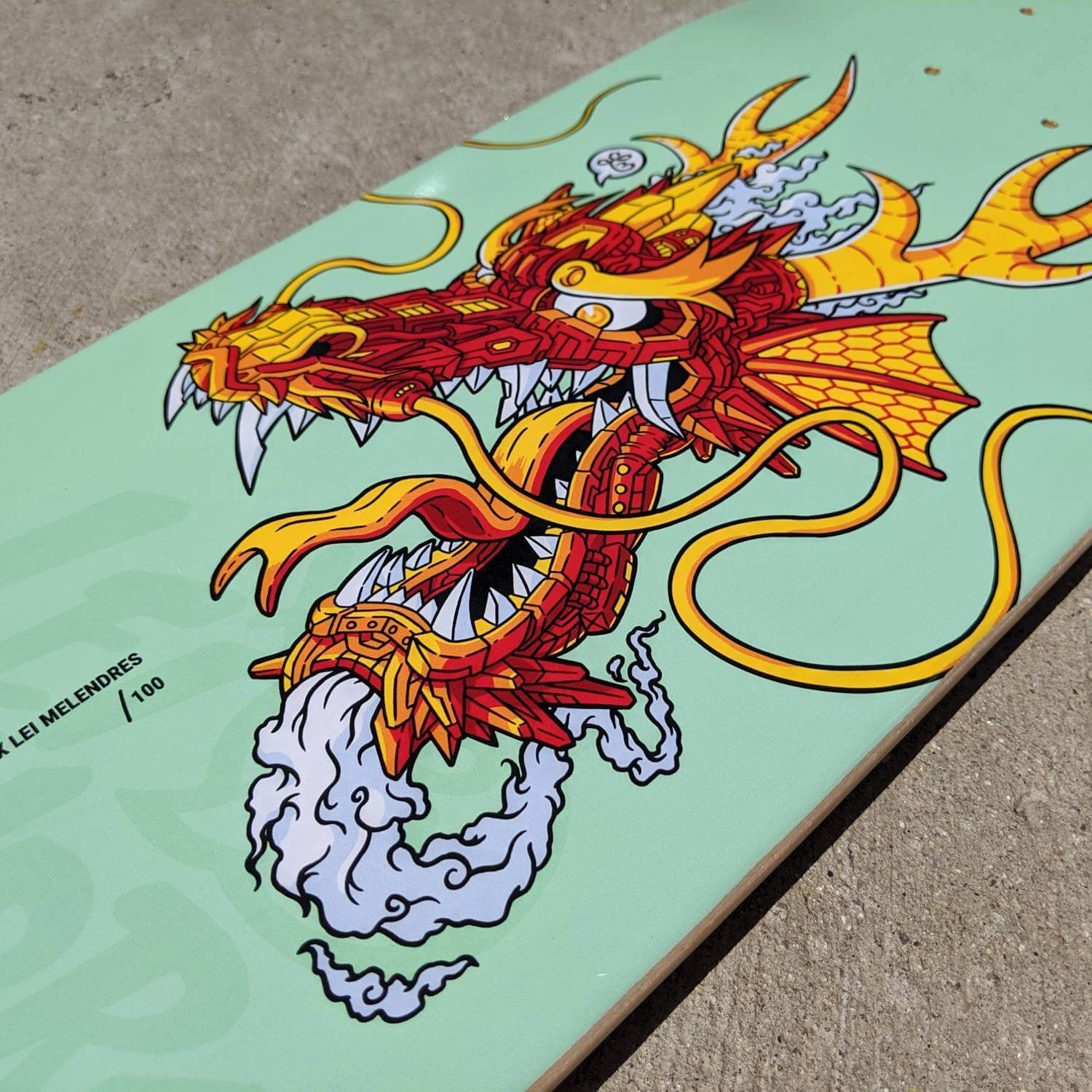 Limited Edition Lei Melendres Artist Series Skateboard