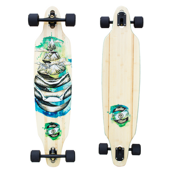 Sector 9 Nine Droplet Lookout Longboard Skateboard with Paris Trucks and Fireball Beast Wheels Product