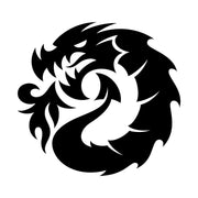 Dragon Logo Large Die Cut Sticker