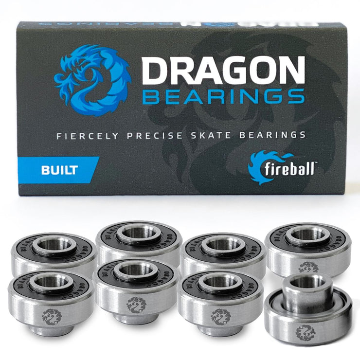 Dragon BUILT C Bearings 8 Pack
