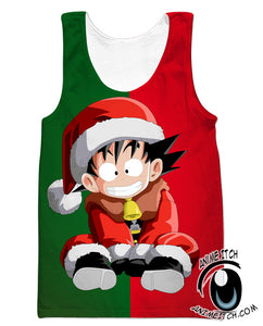 Christmas Goku Clothing