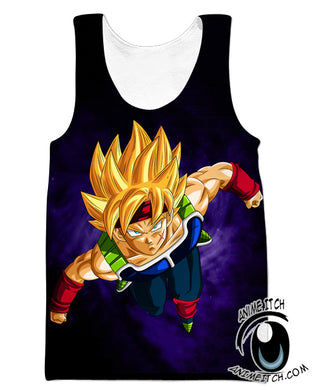 Bardock tank Top gym clothing clothes