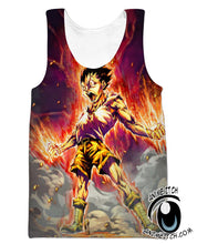 Hunter X Hunter Tank Tops - Gon Rage Tank Top - Printed Clothing