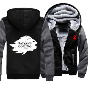 Saiyans Are Coming Jacket Hoodie